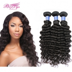 4pcs/lot Virgin Indian Deep Curly Hair Extension Unprocessed Natural Color Indian Hair