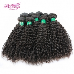10pcs/lot Kinky Curly Unprocessed Virgin Brazilian Hair High Quality Factory Price Human Hair