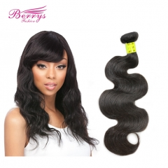 High Quality Unprocessed 1 Bundle Malaysian Body Wave Human Hair Extension Natural Color Berrys Hair Products