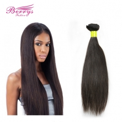 Berrys Fashion 1 Bundle Malaysian Straight Hair Pure Color Virgin Unprocessed Human Hair