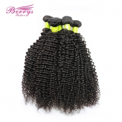 Berrys Fashion Kinky Curly Hair 5pcs/lot  100% Unprocessed Virgin Malaysian Hair Extension