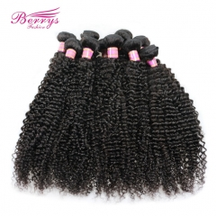 10pcs/lot Kinky Curly Unprocessed Virgin Peruvian Hair  High Quality Factory Price Human Hair
