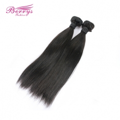 2pcs/lot Peruvian Straight 7A Unprocessed Virgin Hair Hair Extension Natural Black Beautiful Queen Hair Products