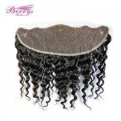 Lace Frontal 13*4 lace Frontal deep wave Brazilian Virgin hair weft Berrys Hair New arrival humanhair