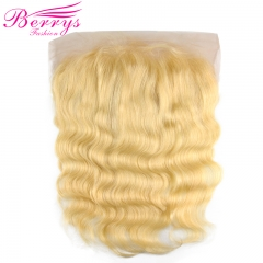 Top Quality Body Wave Blonde 13*6 Lace Frontal with Natural Hairline and Bleached Knots
